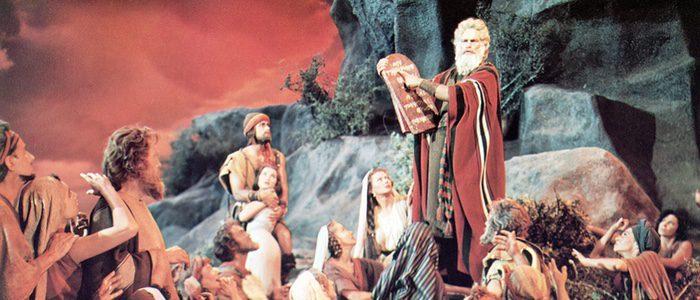 Una pel cula filmada por evang licos es furor en los cines - Tavole dei dieci comandamenti ...